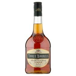 Three Barrels VSOP Brandy 70cl