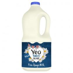 Yeo Valley Organic Whole Milk 2 Litre