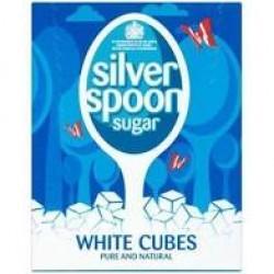 Silver Spoon Sugar White Cubes 500G